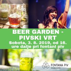 Beer Garden - pivski vrt