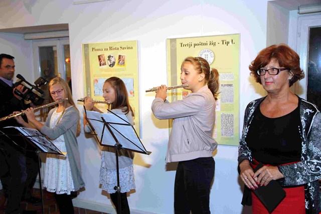 Odprtje razstave Filatelističnega društva Žalec