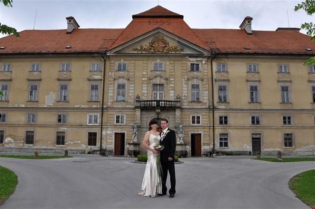 Grajska poroka v Dvorcu Novo Celje