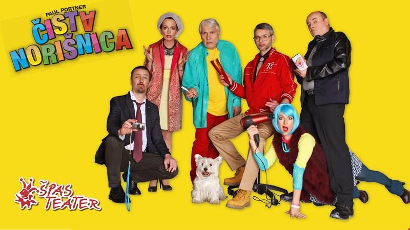 Čista norišnica, komedija Špas teatra