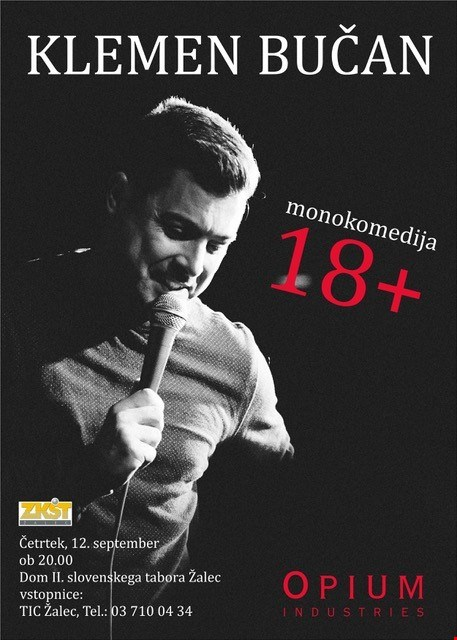 18+, Klemen Bučan, monokomedija