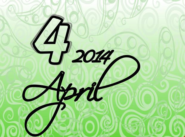 Koledar prireditev april 2014
